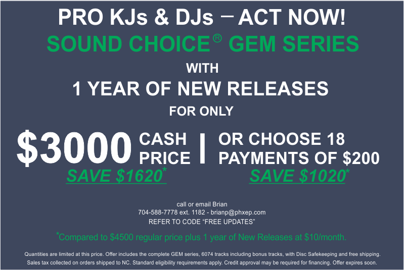 Complete GEM Series + New Music for $3000