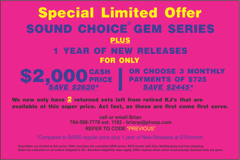 Complete GEM Series + New Music for $2000